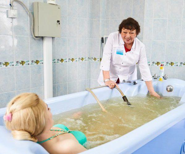 Минеральные ванны
