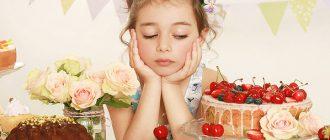Запрещают ребенку сладкое