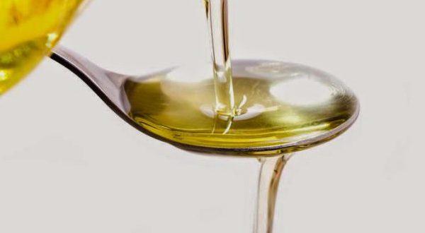 Подсолнечное масло ложка