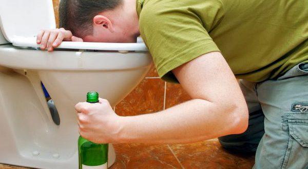 Алкоголь рвота